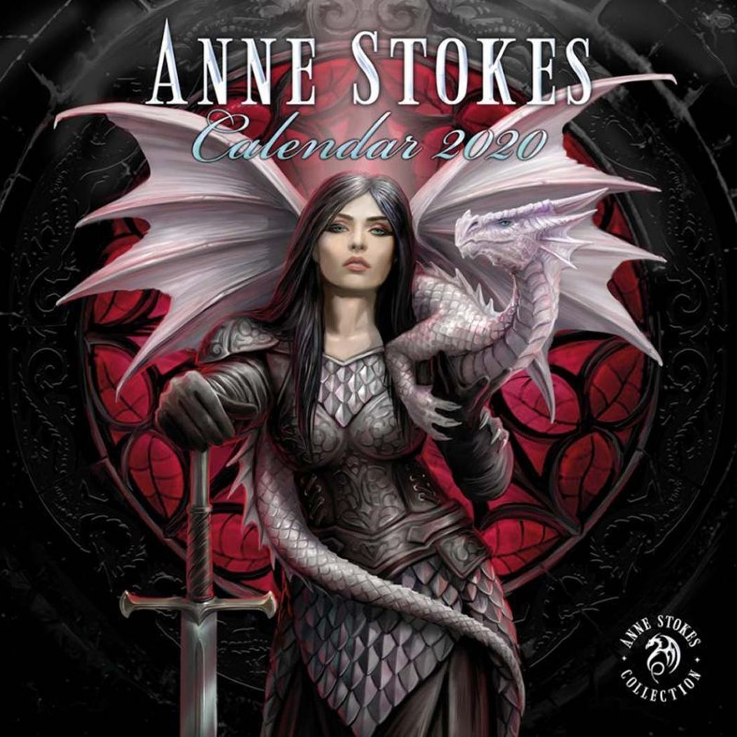 ANNE STOKES Official Gothic Fantasy Calendar 2020